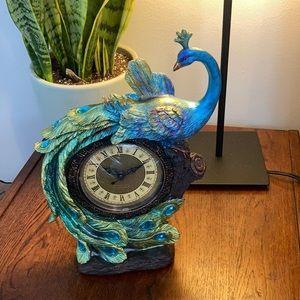 Cracker Barrel Peacock Clock